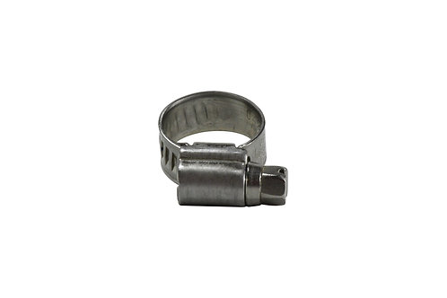 "Hose Clamp - Python II Series - 7/16"" to 11/16"" - #04 - 316 Stainless Steel"