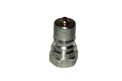 "Hydraulic Quick Coupler - ISO 7241-1 B - 3/8"" NPT - Male Nipple - IRB Series"