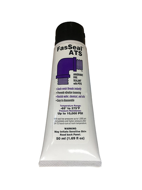 Thread Sealant - FasSeal ATS - Anaerobic with PTFE - 50 mL Tube