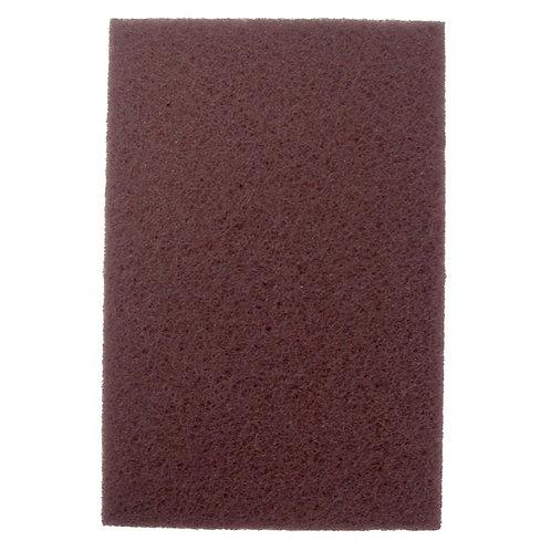 Hand Pad - Non-Woven - General Purpose - Maroon - Aluminum Oxide - 51444