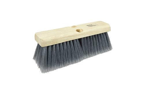 "Bus Brush - 10"" Block - Flagged Silver Gray Polystyrene Fill - 70312"