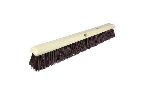 "Floor Brush - Perma-Sweep - 18"" Block - Maroon Polypropylene Fill - 42167"