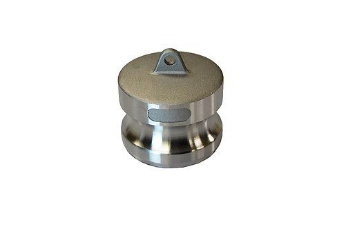 """Camlock - Dust Plug - 1-1/4"""" - Aluminum - 125DP"""