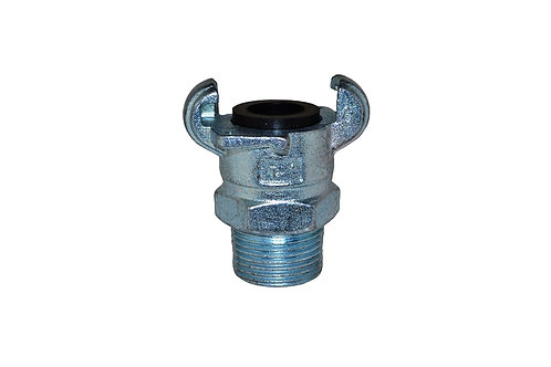 "Air King Coupling - 1"" Male Pipe - Plated Iron - AM12"