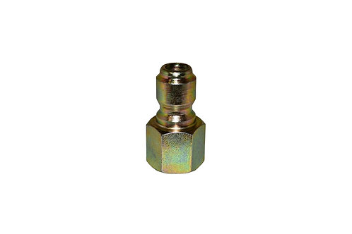 "Pressure Washer - Quick Connect Plug - 3/8"" Female NPT - Steel Plated"