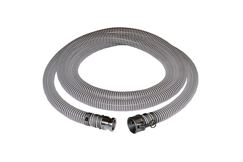 "PVC Flexible Clear Suction Hose - 4"" x 20 FT - Fits Honda - Assembly"