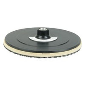 """Back-Up Pad - 7"""" - Hook and Loop Style - 5/8"""" -11 UNC Nut - 51578"""