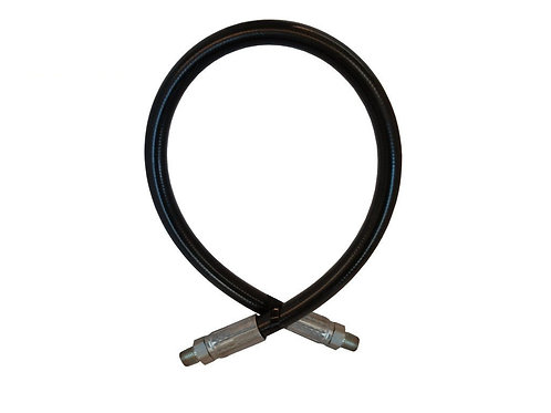"""Hydraulic Hose - 2 Wire - 1/4"""" x 36"""" - With Male NPT - 100R2AT-4"""