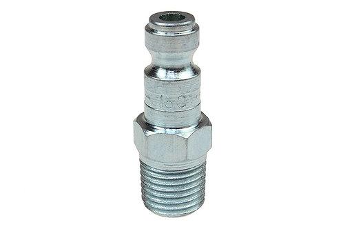 "Automotive Tru-Flate - 1/4"" Plug - 3/8"" Male Pipe Threads"