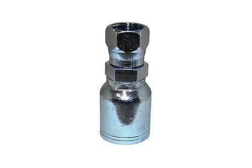 "Hydraulic Crimp Fitting - 5/8"" Female JIC x 5/8"" Hose Barb - C202"