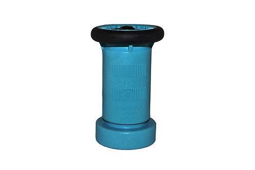 "Fire Hose Nozzle - 1-1/2"" National Pipe Thread (NPT) - Polycarbonate - Blue"