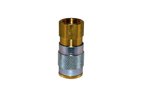 "Automotive Tru-Flate - 1/4"" Coupler - 3/8"" Female Pipe Threads"