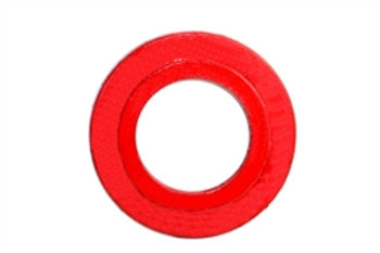 "Foot Valve - Seat Plate - 4"" - Cast Iron - Red"