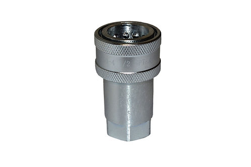"""Hydraulic Quick Coupler - ISO 7241-1 A - 1/2"""" NPT - Female Coupler - 6600 Series"""