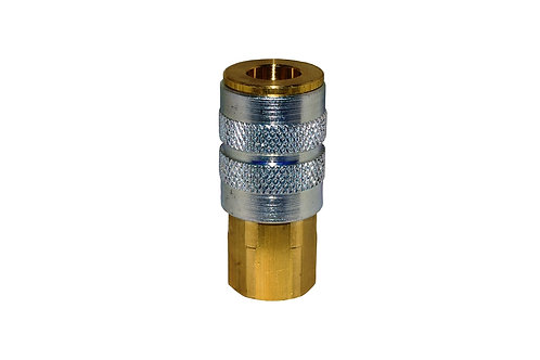 "Industrial Interchange - 1/4"" Coupler - 1/4"" Female Pipe Threads"