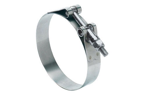 "Hose Clamp - T Bolt - 4.25"" to 4.56"" - Heavy Duty - STBC450"