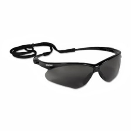 Safety Eyewear - Smoke Lens - Anti-Fog - Anti-Scratch - Black Frame -V30 Nemesis