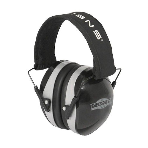 Earmuff - 29 dB Noise Reduction Rate (NRR) - Black/Gray - TRPX-29 - Radians