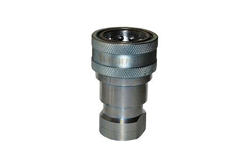 "Hydraulic Quick Coupler - ISO 7241-1 B - 1"" NPT - Female Coupler - IRB Series"