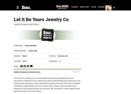 Inc.com Verified Company Profile