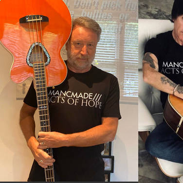 MancMade T-shirt Stars