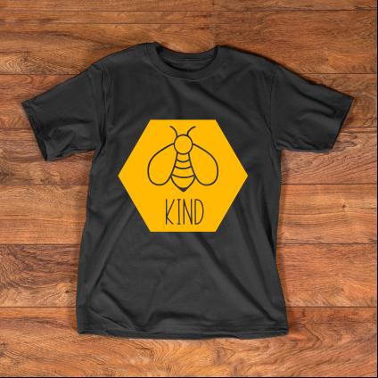 Bee Kind Hexagon T-Shirt