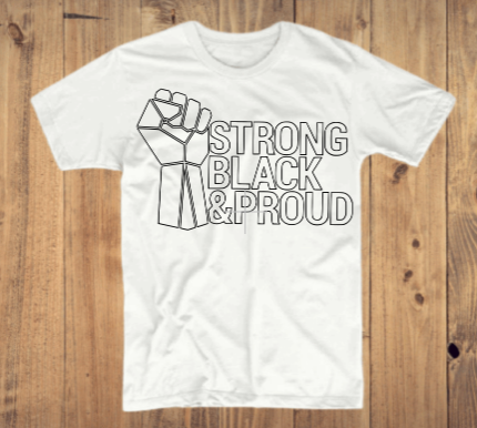 Strong Black Proud T-Shirt