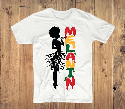 Melanin Root Girl T-Shirt
