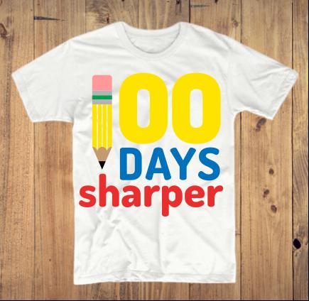 100 Days Sharper T-Shirt