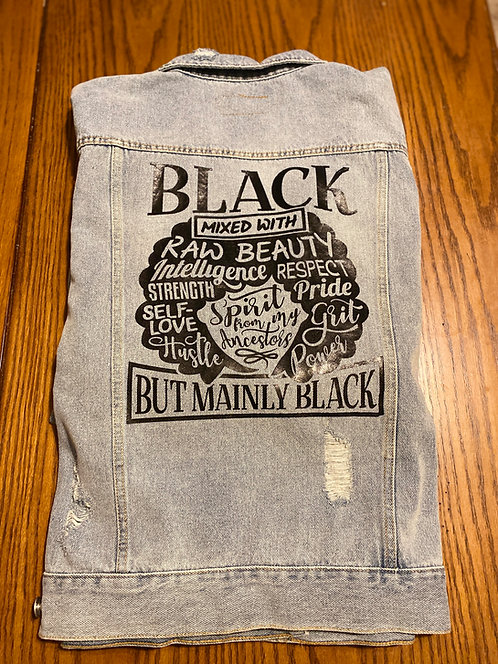 Black Mixed With...Jean Jacket