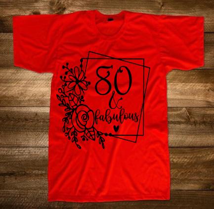 Birthday Fabulous T-Shirt
