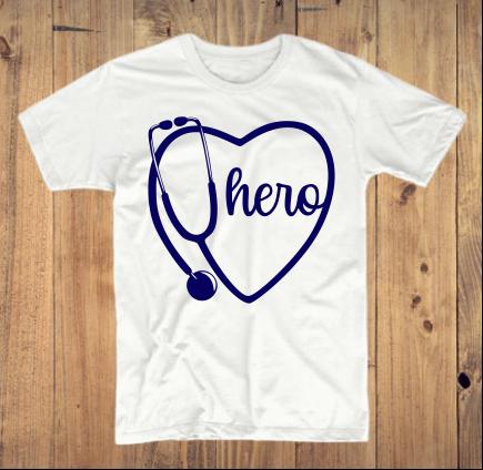 Stethoscope Hero T-Shirt