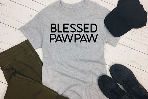 Blessed Paw Paw T-Shirt