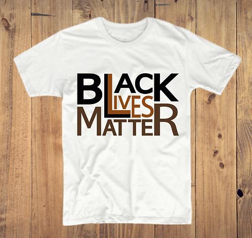 Black Lives Matter (Square Logo) T-Shirt