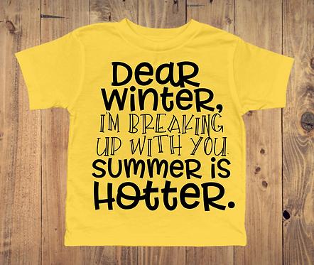 Dear Winter T-Shirt