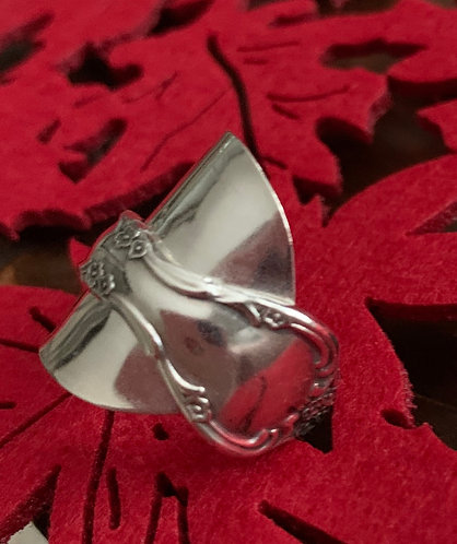 Upcycled Double Wrap Ring