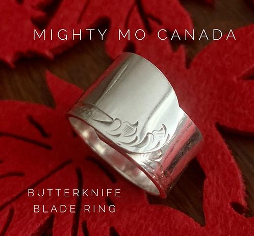 Butterknife Ring