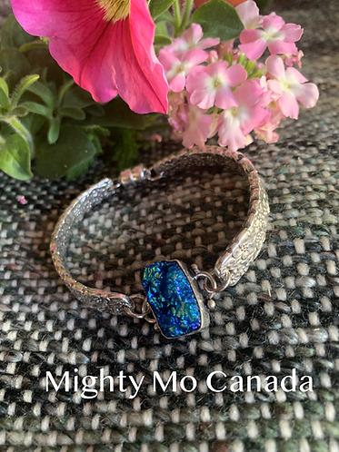Precious Flower Silverware Bracelet