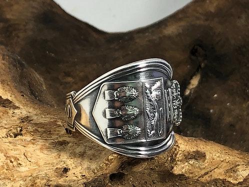 Sulfur Springs Souvenir Spoon Ring