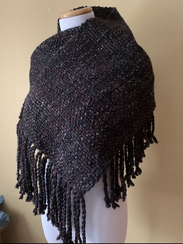 Warm and cozy handwoven scarf