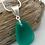 Thumbnail: Green sea glass necklace