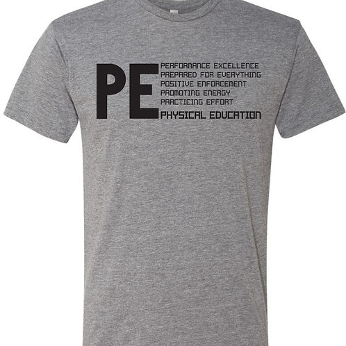 PLYOGA Physical Education Tri-Blend