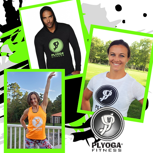 (3 PACK) CoEd PLYOGA Logo Collection