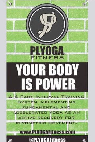 PLYOGA Vertical System Banner