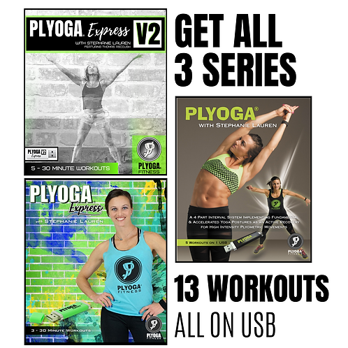 3-Series Workout Pack