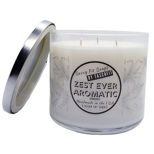 ZEST EVER AROMATIC - A Soy Lemon Candle