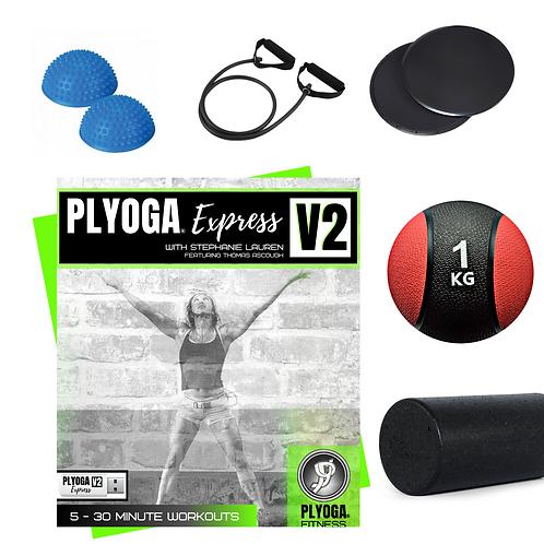 PLYOGA EXPRESS V2 & FIT KIT OPTION