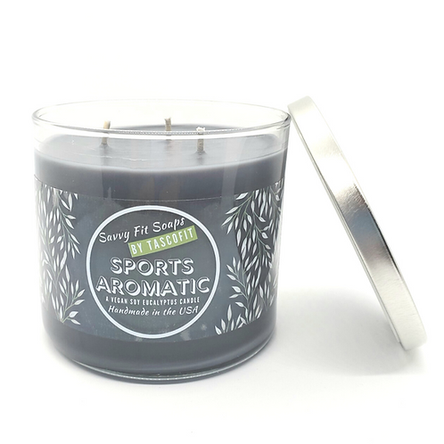 SPORT AROMATIC - A Soy Eucalyptus Candle