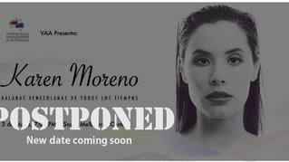Event Postponed - Baladas Venezolanas de Todos los Tiempos