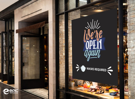 WINDOW GRAPHICS ARE SAVING SOME RETAIL BUSINESS OWNERS DURING COVID-19